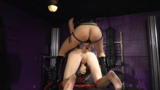 Streaming porn video still #3 from Strapdomme 2: Bound For Pegging