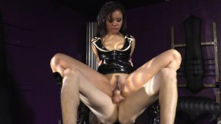 Streaming porn video still #6 from Strapdomme 2: Bound For Pegging