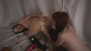 Streaming porn video still #2 from Fetish Fanatic 21: The Extreme Sploshing Edition