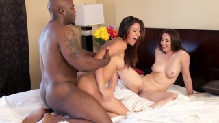 Streaming porn video still #7 from Interracial Surrender Threesomes