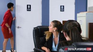 Streaming porn video still #6 from Broke College Girls