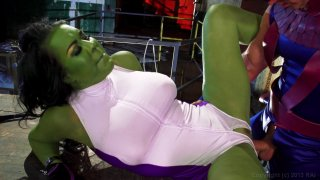 Streaming porn video still #4 from She-Hulk XXX: An Axel Braun Parody