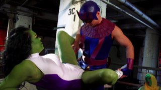 Streaming porn video still #5 from She-Hulk XXX: An Axel Braun Parody