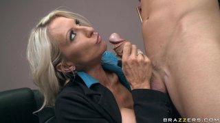 Streaming porn video still #3 from Big Tits At Work Vol. 18