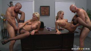 Streaming porn video still #5 from Big Tits At Work Vol. 18