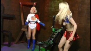 Streaming porn video still #13 from Supergirl Powerless: A Fetish Parody