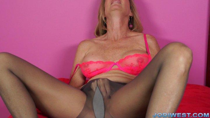 Jodi West - Pantyhose Worship Masturbation